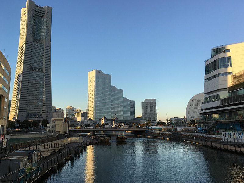 綱島とみなとみらいで交通系インフラ関連企業の取材