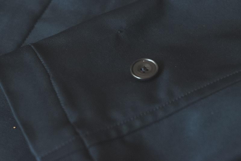 コートのボタン